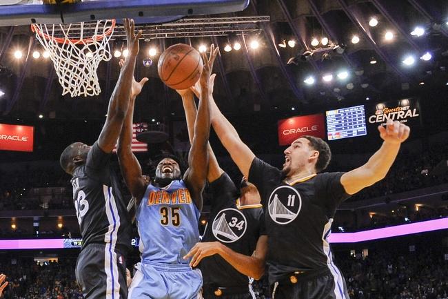 Denver Nuggets vs. Golden State Warriors - 1/13/16 NBA Pick, Odds, and Prediction