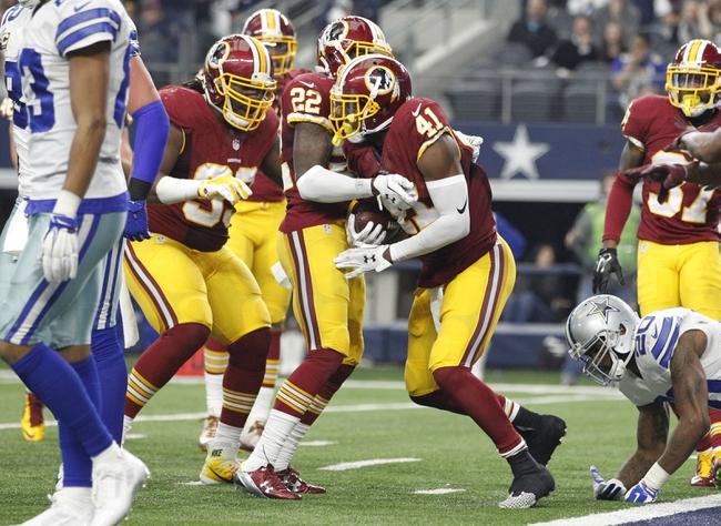 Dallas Cowboys at Washington Redskins- 9/18/16 NFL Pick, Odds, and Prediction