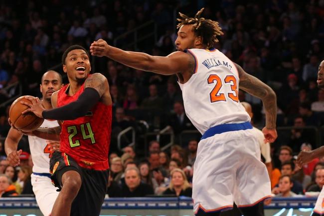 Knicks at Hawks - 1/5/16 NBA Pick, Odds, and Prediction