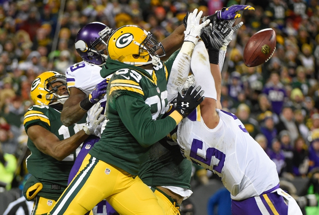 Minnesota Vikings vs. Green Bay Packers - 9/18/16 NFL Pick, Odds, and Prediction