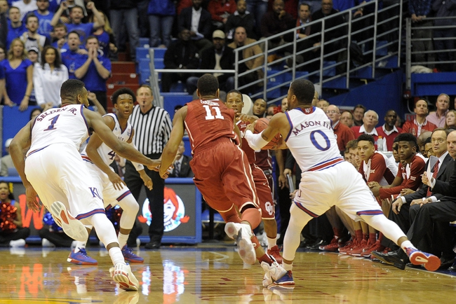 Oklahoma vs. Kansas - 2/13/16 College Basketball Pick, Odds, and Prediction