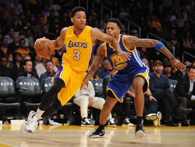 Golden State Warriors vs. Los Angeles Lakers - 1/14/16 NBA Pick, Odds, and Prediction