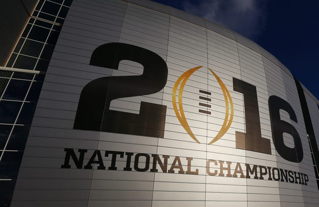 Alabama Crimson Tide vs. Clemson Tigers --National Championship -- 1/11/16 College Football Pick, Odds, and Prediction