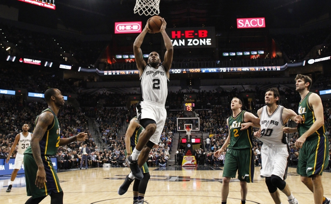 Jazz vs. Spurs - 2/25/16 NBA Pick, Odds, and Prediction