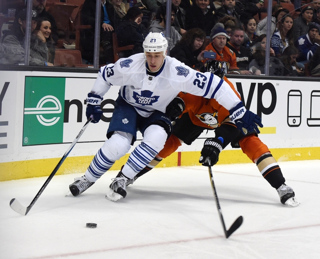Toronto Maple Leafs vs. Anaheim Ducks - 3/24/16 NHL Pick, Odds, and Prediction