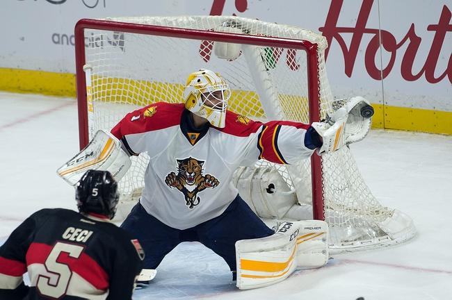 Florida Panthers vs. Ottawa Senators - 3/10/16 NHL Pick, Odds, and Prediction