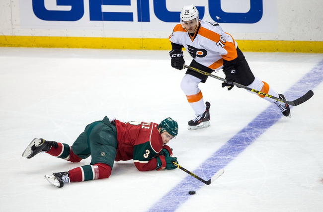Flyers vs. Wild - 2/25/16 NHL Pick, Odds, and Prediction