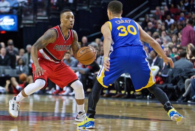 Trail Blazers vs. Warriors - 2/19/16 NBA Pick, Odds, and Prediction
