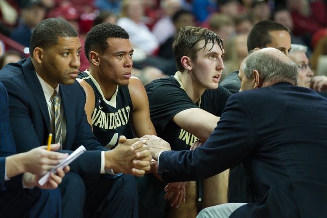 Vanderbilt vs. Alabama - 1/16/16 College Basketball Pick, Odds, and Prediction