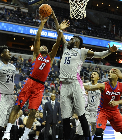 Georgetown vs. DePaul - 3/9/16 College Basketball Pick, Odds, and Prediction