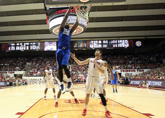 Kentucky vs. Alabama - 2/23/16 College Basketball Pick, Odds, and Prediction