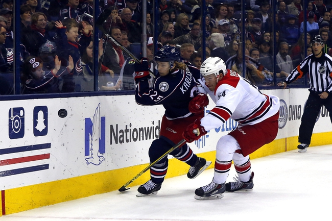 Blue Jackets vs. Hurricanes - 3/24/16 NHL Pick, Odds, and Prediction
