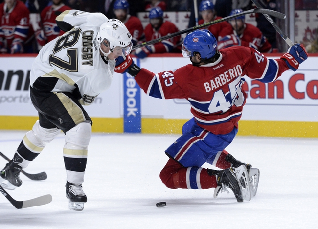 Radulov scores, Montoya gets shutout as Canadiens defeat Penguins 4-0