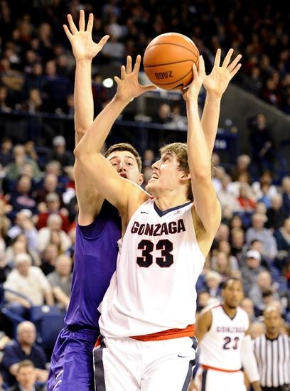 Gonzaga Bulldogs vs. BYU Cougars - 1/14/16 College Basketball Pick, Odds, and Prediction