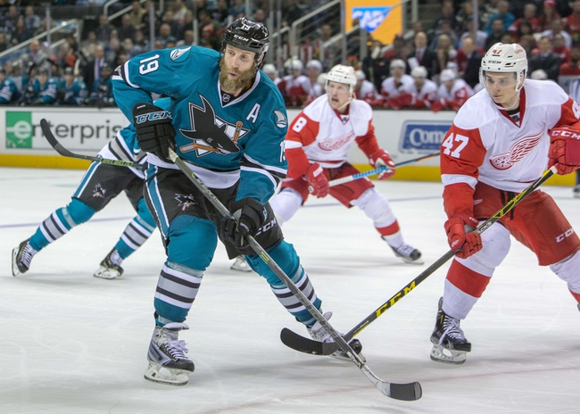 Detroit Red Wings vs. San Jose Sharks - 10/22/16 NHL Pick, Odds, and Prediction
