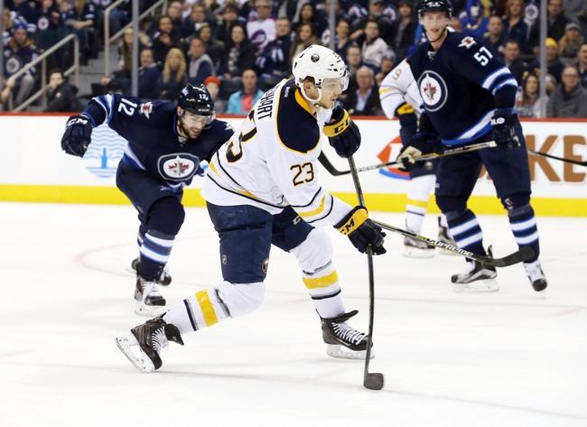Sabres vs. Jets - 3/26/16 NHL Pick, Odds, and Prediction