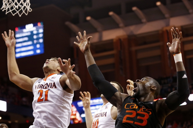 Virginia at Miami - 2/22/16 College Basketball Pick, Odds, and Prediction
