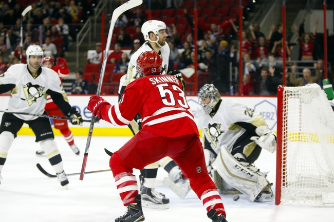 Penguins vs. Hurricanes - 1/17/16 NHL Pick, Odds, and Prediction