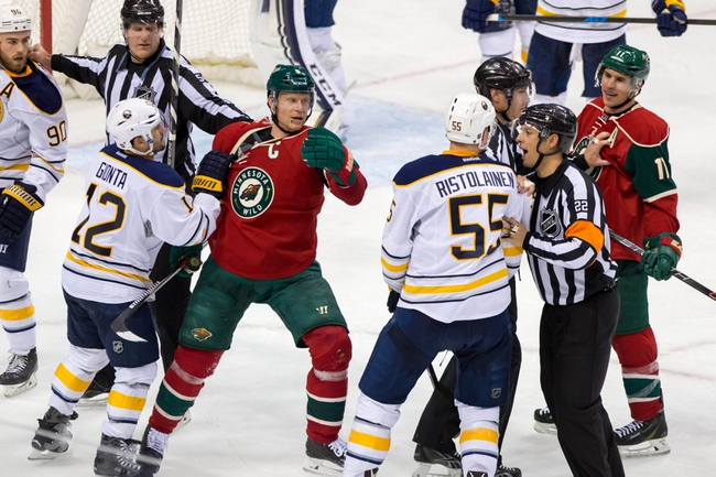 Sabres vs. Wild - 3/5/16 NHL Pick, Odds, and Prediction