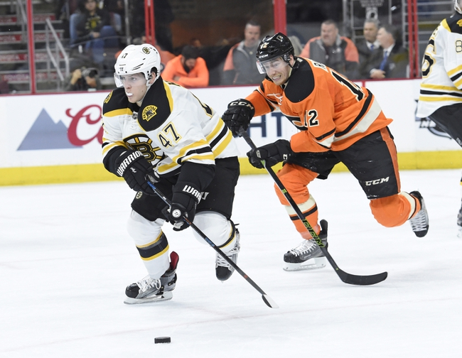 Philadelphia Flyers vs. Boston Bruins - 1/25/16 NHL Pick, Odds, and Prediction