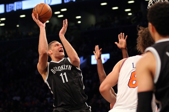 New York Knicks at Brooklyn Nets  - 2/19/16 NBA Pick, Odds, and Prediction
