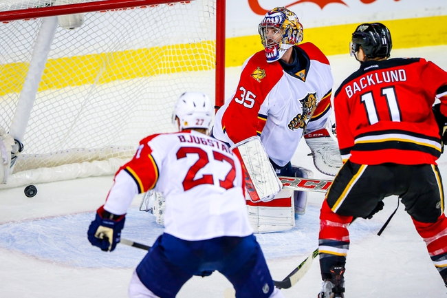 Flames pounce on Panthers 5-2