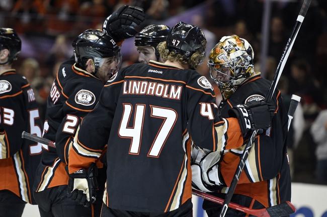 Ottawa Senators vs. Anaheim Ducks - 3/26/16 NHL Pick, Odds, and Prediction