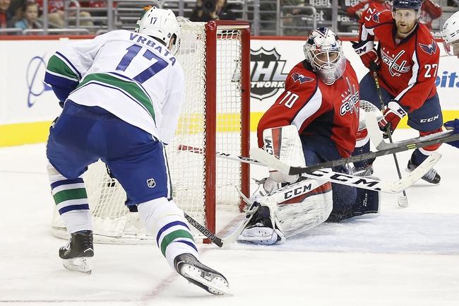 Vancouver Canucks vs. Washington Capitals - 10/29/16 NHL Pick, Odds, and Prediction