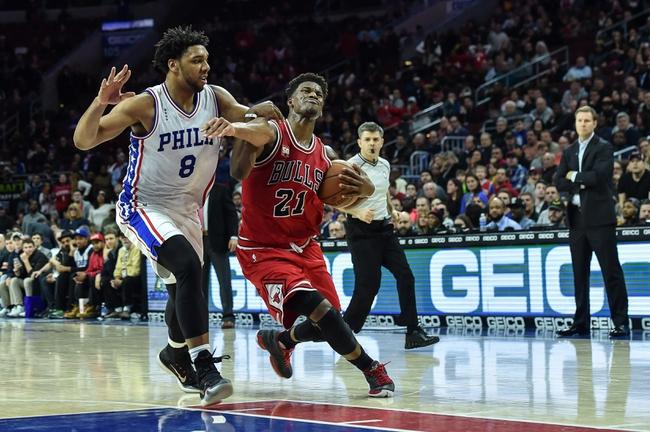 Chicago Bulls vs. Philadelphia 76ers - 4/13/16 NBA Pick, Odds, and Prediction