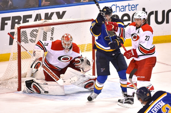Carolina Hurricanes vs. St. Louis Blues - 2/28/16 NHL Pick, Odds, and Prediction