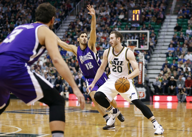 Sacramento Kings vs. Utah Jazz - 3/13/16 NBA Pick, Odds, and Prediction