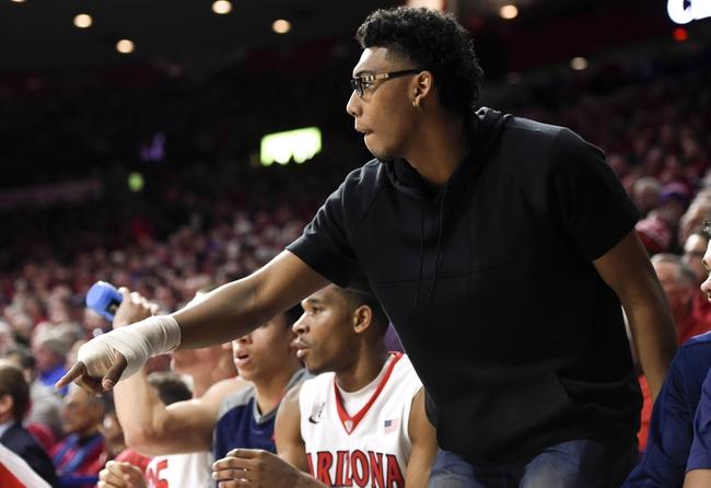 Arizona vs. Washington State - 1/16/16 College Basketball Pick, Odds, and Prediction