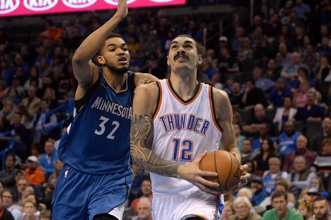 Minnesota Timberwolves vs. Oklahoma City Thunder - 1/27/16 NBA Pick, Odds, and Prediction