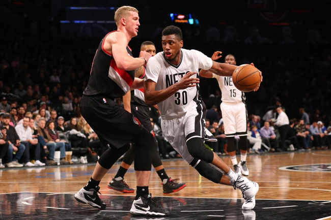 Trail Blazers vs. Nets - 2/23/16 NBA Pick, Odds, and Prediction