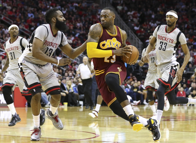 Cavaliers vs. Rockets - 3/29/16 NBA Pick, Odds, and Prediction