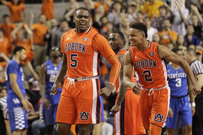 Auburn vs. Alabama - 1/19/16 College Basketball Pick, Odds, and Prediction