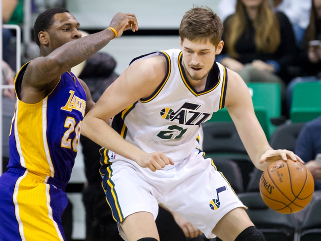Utah Jazz vs. Los Angeles Lakers - 3/28/16 NBA Pick, Odds, and Prediction