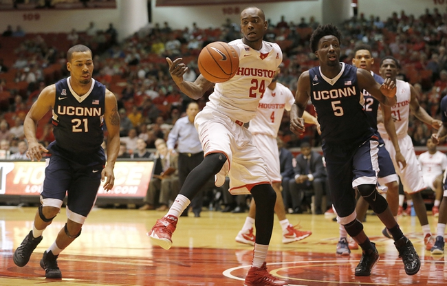 Connecticut Huskies vs. Houston Cougars - 2/28/16 College Basketball Pick, Odds, and Prediction