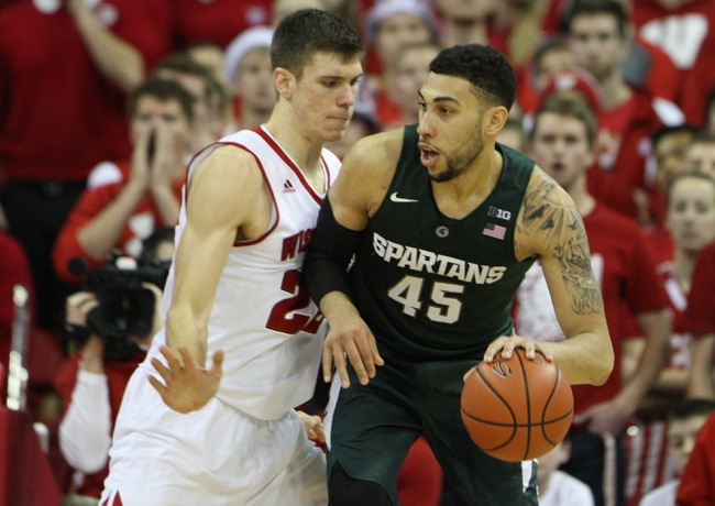 Michigan State vs. Wisconsin - 2/18/16 College Basketball Pick, Odds, and Prediction
