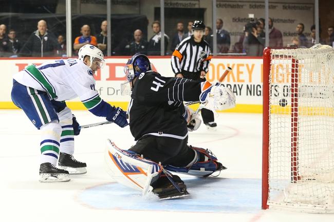 Canucks vs. Islanders - 3/1/16 NHL Pick, Odds, and Prediction