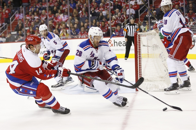 Capitals vs. Rangers - 3/4/16 NHL Pick, Odds, and Prediction
