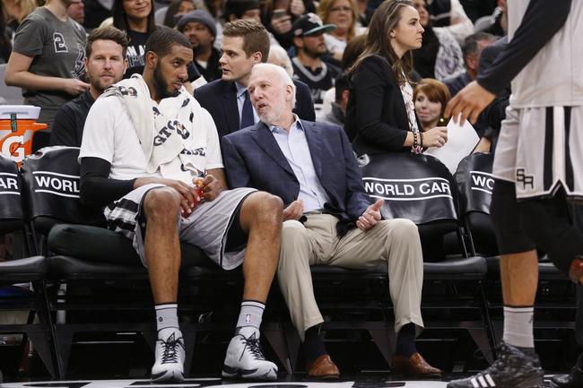 Dallas Mavericks vs. San Antonio Spurs - 2/5/16 NBA Pick, Odds, and Prediction