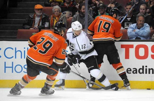 Kings vs. Ducks - 2/4/16 NHL Pick, Odds, and Prediction