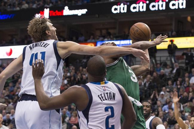 Boston Celtics vs. Dallas Mavericks - 11/16/16 NBA Pick, Odds, and Prediction