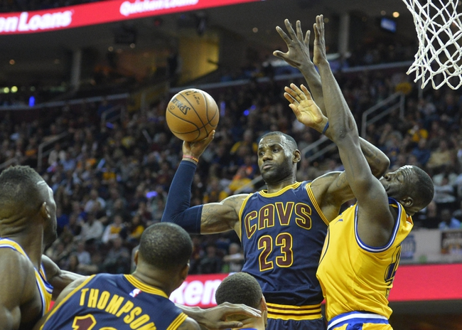 Golden State Warriors vs. Cleveland Cavaliers - 6/2/16 NBA Pick, Odds, and Prediction