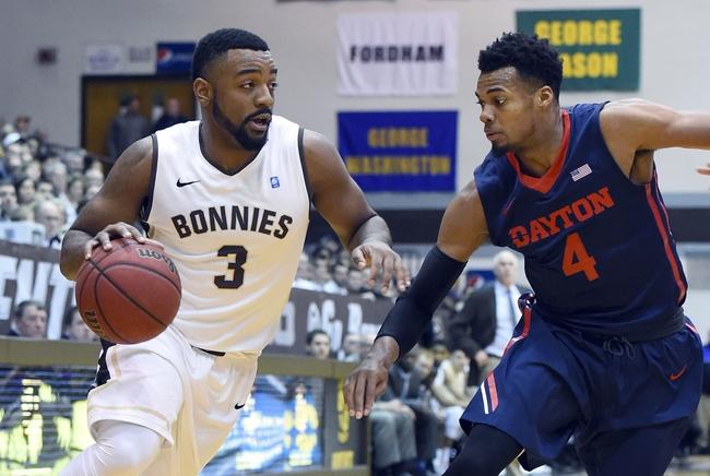 St. Bonaventure vs. Richmond - 1/31/16 College Basketball Pick, Odds, and Prediction