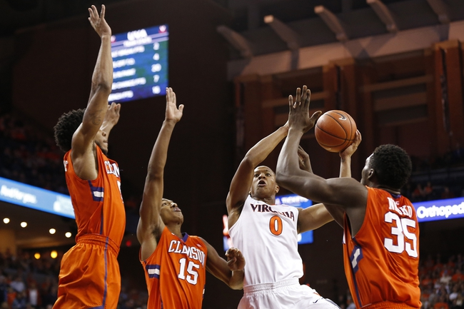 Clemson vs. Virginia - 3/1/16 College Basketball Pick, Odds, and Prediction