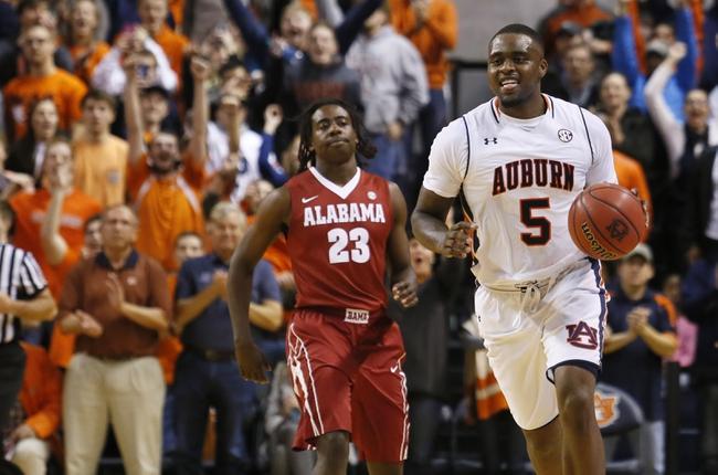 Alabama vs. Auburn - 2/27/16 College Basketball Pick, Odds, and Prediction
