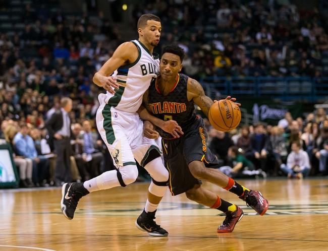 Hawks vs. Bucks - 2/20/16 NBA Pick, Odds, and Prediction
