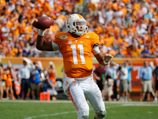 Tennessee vs. Appalachian State - 9/1/16 College Football Pick, Odds, and Prediction